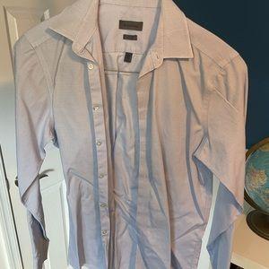 Calvin Klein shirt, M, Slim Fit, blue and white